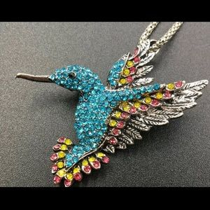 Hummingbird Necklace/Brooch